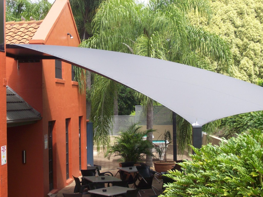 Shade Sails for Cafes and Restaurants