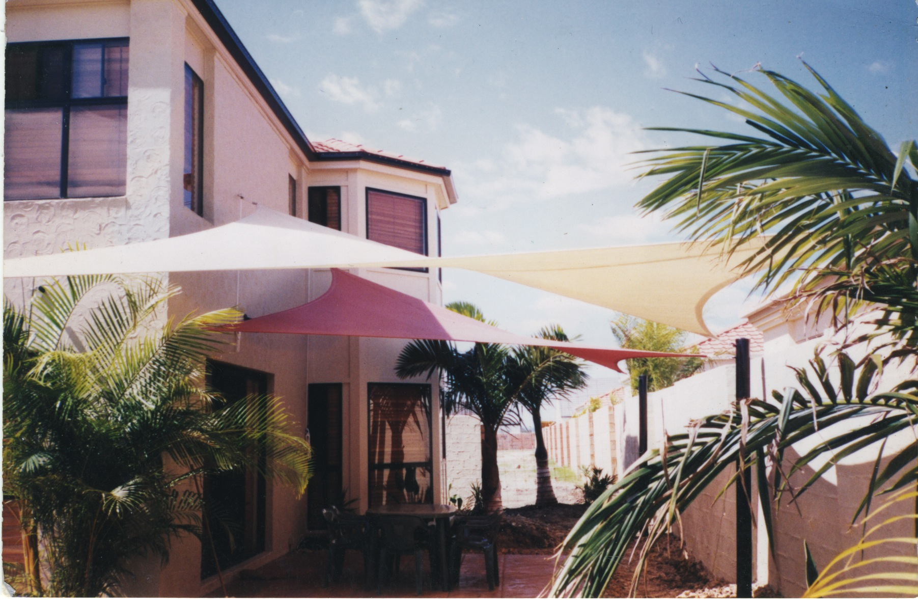 residential shades sails for gold coast homes