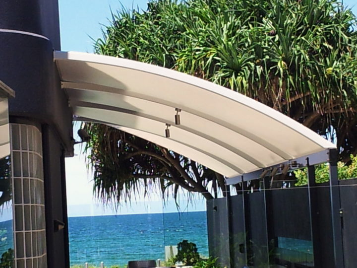 Driveway Shade Sails for eating areas