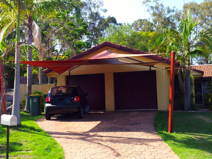 Coomera Shade Sails to extend living space